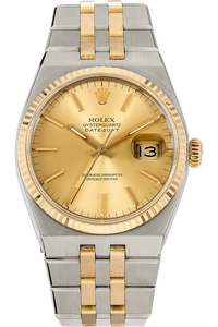 Datejust Circa 1983 Yellow Gold and Stainless Steel Quartz