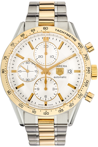 Carrera Chronograph Yellow Gold and Stainless Steel Automatic