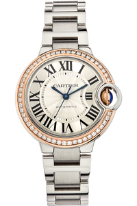 Ballon Bleu Rose Gold and Stainless Steel Automatic