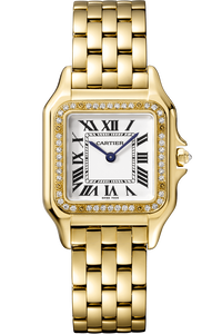 Panthère de Cartier, Yellow Gold, Medium