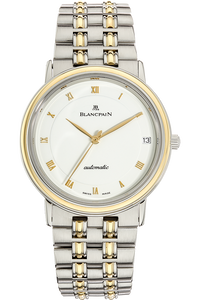 Villeret Ultra Slim  Yellow Gold and Stainless Steel Automatic