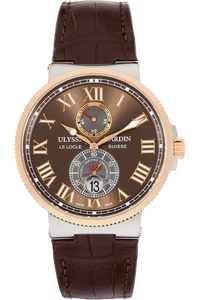 Marine Rose Gold and Stainless Steel Automatic