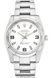 Air King White Gold and Stainless Steel Automatic
