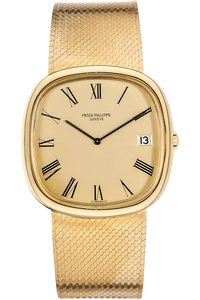 Jumbo Ellipse Reference 3604 Circa 1970s Yellow Gold Automatic