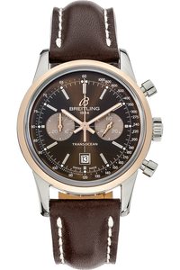 Transocean Chronograph Rose Gold and Stainless Steel