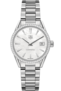 Carrera Quartz Watch Diamond Bezel