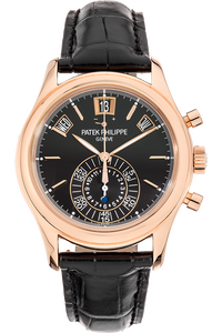 Annual Calendar Chronograph Reference 5960 Rose Gold Automatic