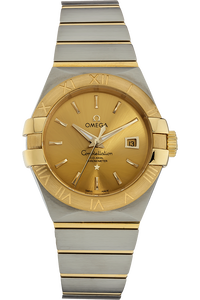 Constellation Co-Axial Yellow Gold and Stainless Steel
