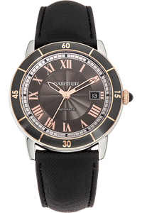 Ronde Croisiere Rose Gold and Stainless Steel Automatic