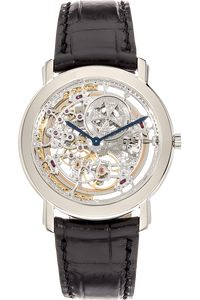 Malte Openworked White Gold Automatic