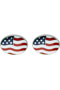 USA Flag Cufflinks