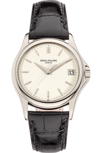 Calatrava Reference 5127  White Gold Automatic