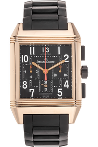 Reverso Squadra GMT Limited Edition Rose Gold Automatic