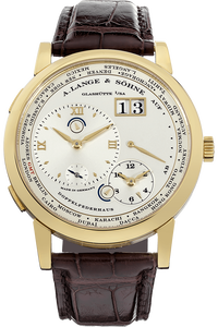 Lange 1 Time Zone Yellow Gold Manual