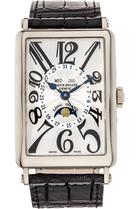 Long Island Master Calendar  White Gold Automatic