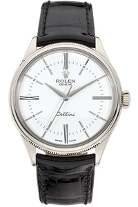 Cellini Time White Gold Automatic