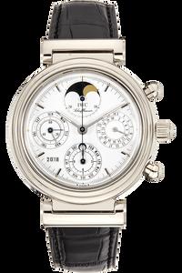 Da Vinci Perpetual Calendar White Gold Automatic