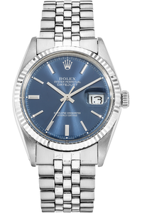 Datejust Circa 1970s White Gold and Stainless Steel Automatic