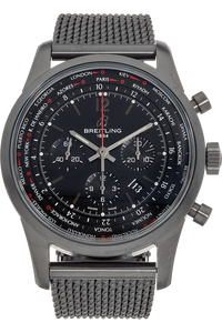 Transocean Chronograph DLC Stainless Steel Automatic