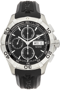 Aquaracer Day-Date Chronograph Stainless Steel Automatic