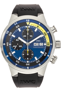 Aquatimer Cousteau Divers Chronograph Stainless Steel Automatic