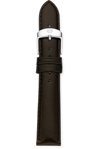 18MM Espresso Patent Leather Strap