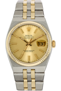 Datejust Circa 1979 Yellow Gold and Stainless Steel Quartz