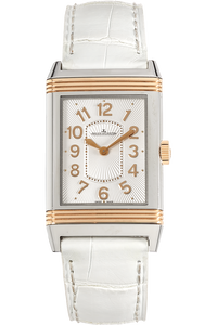 Grande Reverso Lady Ultra Thin Rose Gold and Stainless Steel Quartz