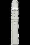 16MM White Alligator Strap