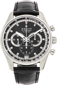 El Primero 36,000 VPH Chronograph Stainless Steel Automatic