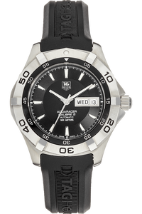Aquaracer Day-Date Stainless Steel Automatic