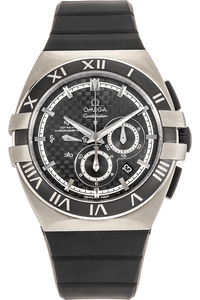 Double Eagle Co-Axial Chronograph Titanium Automatic