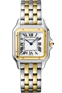 Panthère de Cartier Medium Yellow Gold and Steel
