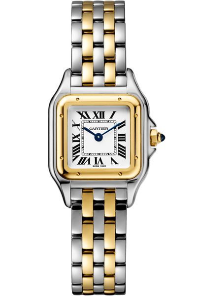 Panthère de Cartier Small Yellow Gold and Steel