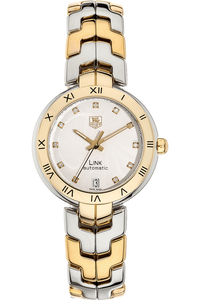 Link Yellow Gold and Stainless Steel Automatic