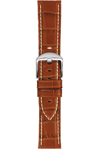 22 mm Tan Alligator Strap