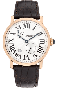 Rotonde de Cartier Power Reserve Rose Gold Manual
