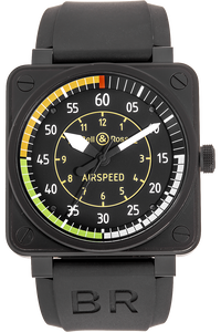 BR 01-92 Airspeed Limited Edition PVD Stainless Steel Automatic