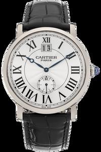 Rotonde de Cartier White Gold Manual