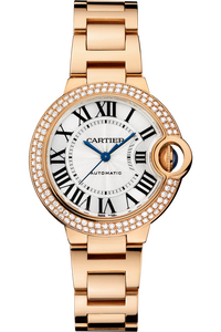Ballon Bleu de Cartier, Automatic Pink Gold, Diamonds