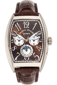 Master Banker Moonphase White Gold Automatic