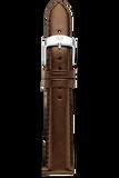16MM Espresso Patent Leather Strap