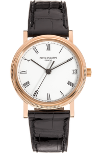 Calatrava Reference 3802 Rose Gold Automatic