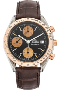 Speedmaster Date Rose Gold and Stainless Steel Automatic