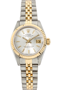 Datejust Cica 1980's Yellow Gold and Stainless Steel Automatic