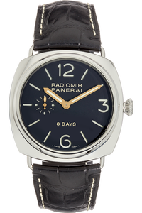 Radiomir 8 Days Stainless Steel Manual