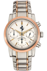 Ferrari Chronograph  Rose Gold and Stainless Steel Automatic