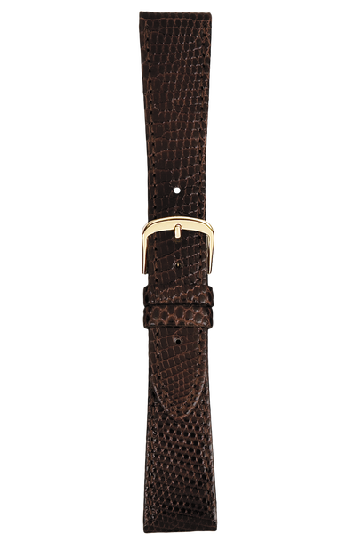 20 mm Brown Lizard Strap