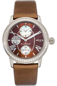 Double Time Zone White Gold Automatic