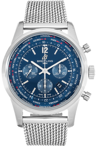Transocean Chronograph Unitime Stainless Steel Automatic